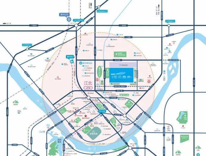 惠州和风春岸地段怎么样?惠州和风春岸交通方便吗?
