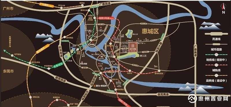 新力城区位图