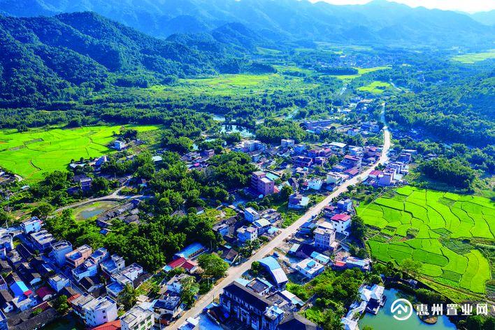 云顶威士忌产业园项目选址在龙门县龙潭镇,自然生态环境优势突出。惠州日报记者汤渝杭 摄