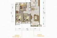 万科·中天·宏远魅力之城97㎡三房两厅两卫
