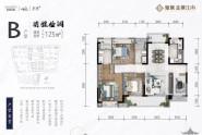 惠州新城金樾江南B户型