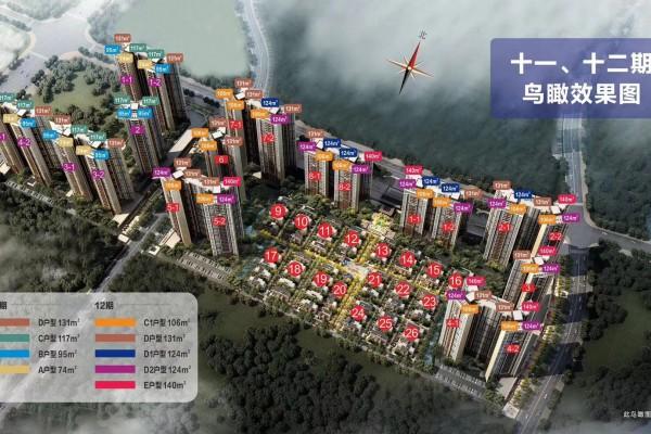 佳兆业东江新城十一、二期效果图