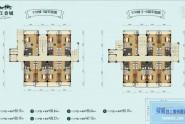 惠州王府钓鱼台17栋1-6层平面图
