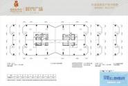 惠州佳兆业ICC时代广场33-45层标准层户型