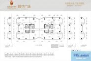 惠州佳兆业ICC时代广场20-30层标准层户型