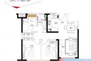 惠州新力珑湾89㎡3房2厅1卫