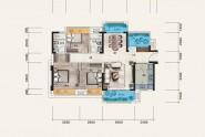 惠州佳兆业时代可园三期C户型 3房2厅2卫