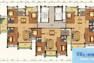 惠州锦绣一品B户型,3房2厅2卫,130平方