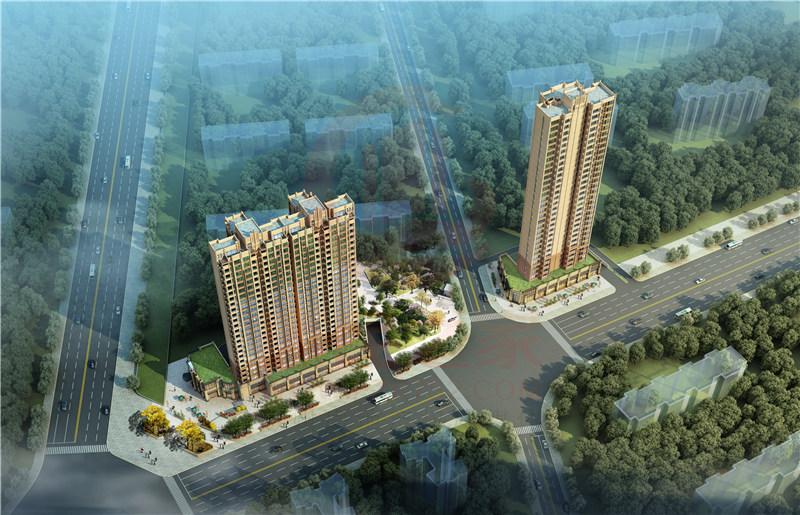 惠州盛越华府在售1号楼建筑面积93~142平米2~3房 均价16059元/平米