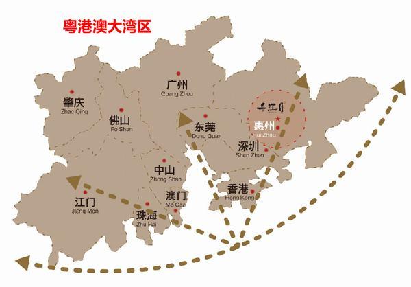 东旭千江月区位图